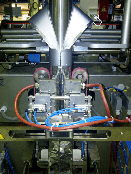 Double Drag Bar Sealing Jaws