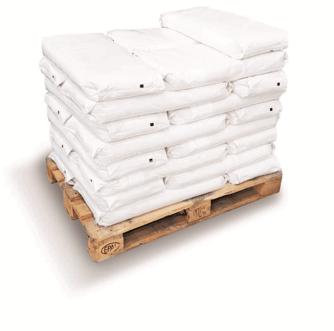 Palletized Sacks of Bulk powder products from VFFS machine-1