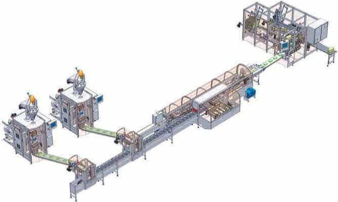 Rovema Packaing Line CAD Image