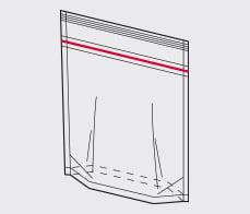 Rovema Ropack (Doypack) with zip rendering