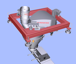 Rovema SD-H Dust Free Highly Accurate Auger Doser with Weigh Cell Technology for Bulk Powder Filling Accuracy