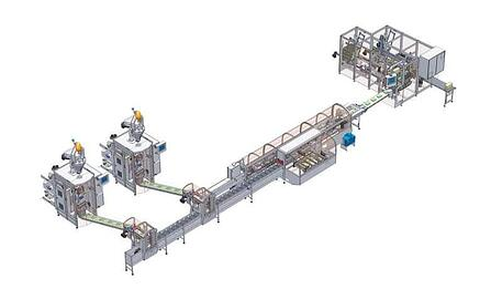 Rovema Turnkey Packaging Line Layout