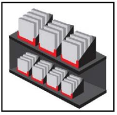 Shelf Ready Packaging Slotting Layout