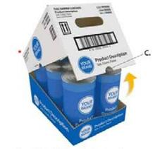 Shelf Ready Packaging Case Example