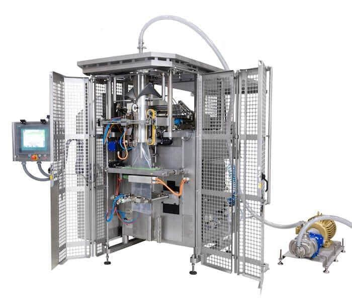 Rovema BVL vertical bagger for liquids & sauces