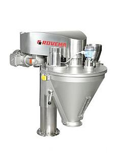 auger filler like Rovema will display at pack expo on a continuous motion VFFS