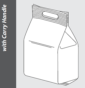 Variation-of-block-bottom-bag-with-convenient-carry-handle