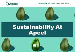apeel sustainable packaging