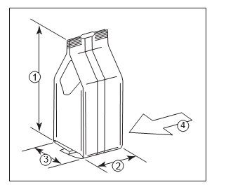 figure-showing-package-measurements-of-quad-seal-coffee-bag