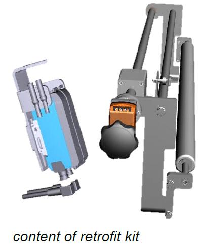 Adjustment Unit for Film Edge Control