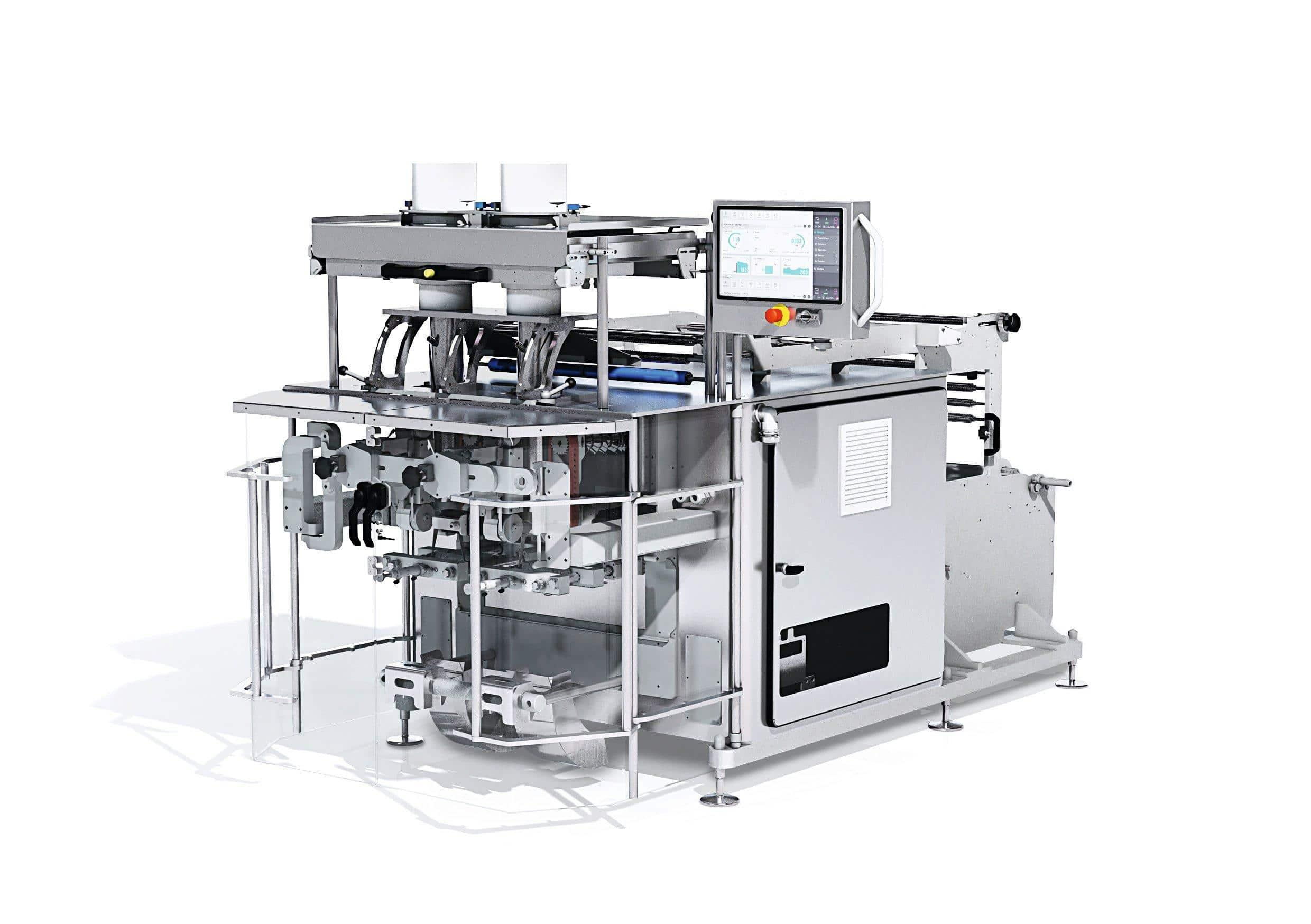 Rovema-BVC-145-Twin-Tube-Continuous-Motion-Vertical-Bagger