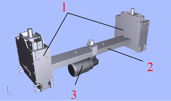 Height Adjustment Device for SBS Transport Bar