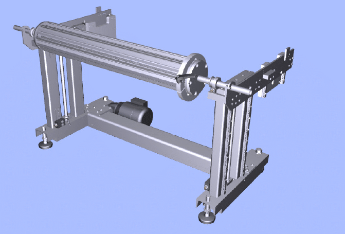 Lifting Device for Film Rolls