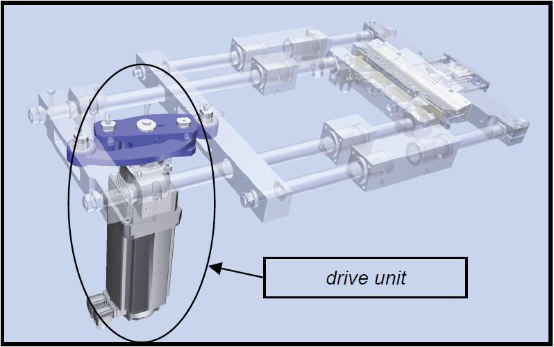 Upgrade for Drive of ROVEMA VPI260 Machine