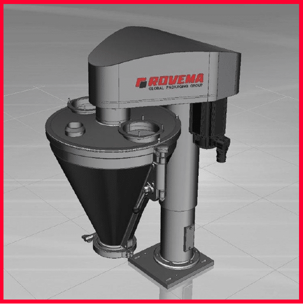 Vibration Sensor System for ROVEMA Auger Dosings